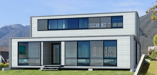 Flat Container House