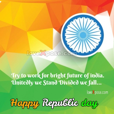 Happy Republic Day India in English