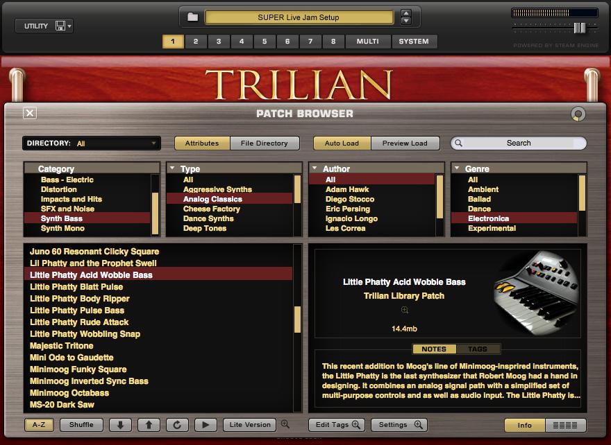 [Release] Trilian Preset Browser for Komplete Kontrol \ Maschine   NI Community Forum