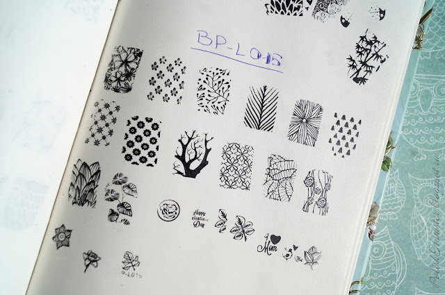 Born Pretty Stamping plate BP-L015