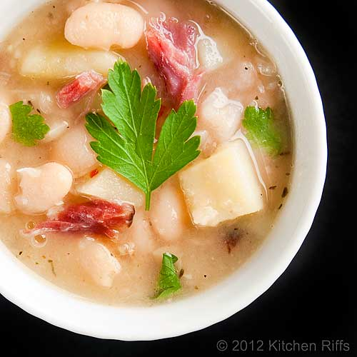 White Bean and Potato Soup
