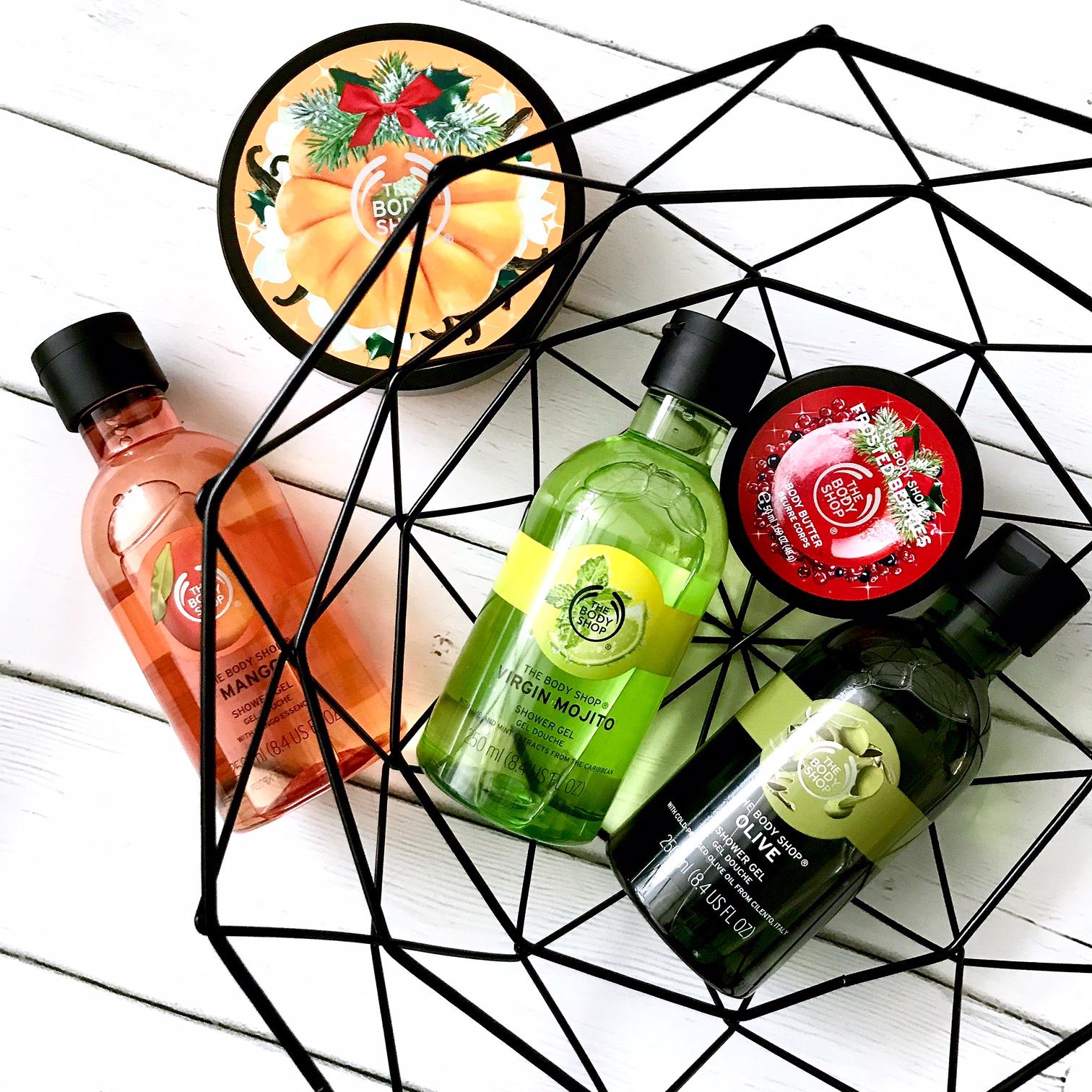 zdjęcie kosmetyków The Body Shop