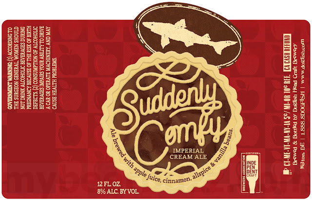 Dogfish Head Adding NEW Suddenly Comfy Imperial Cream Ale Bottles