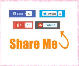 Thêm nút Share trực tiếp vào bài viết cho Blogspot Pro Version 1