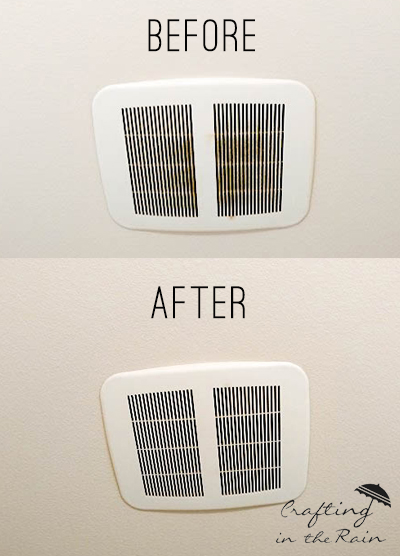 How To Clean Bathroom Vent Fans Crafting In The Rain - Cleaning bathroom vent fan