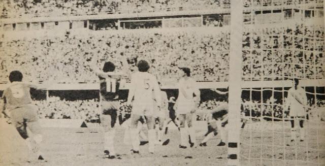 Colombia y Chile en partido amistoso, 19 de marzo de 1981