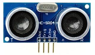 HC-SR04 Ultrasonic sensor pin out