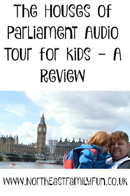 The Houses of Parliament Audio Tour for kids, A Review