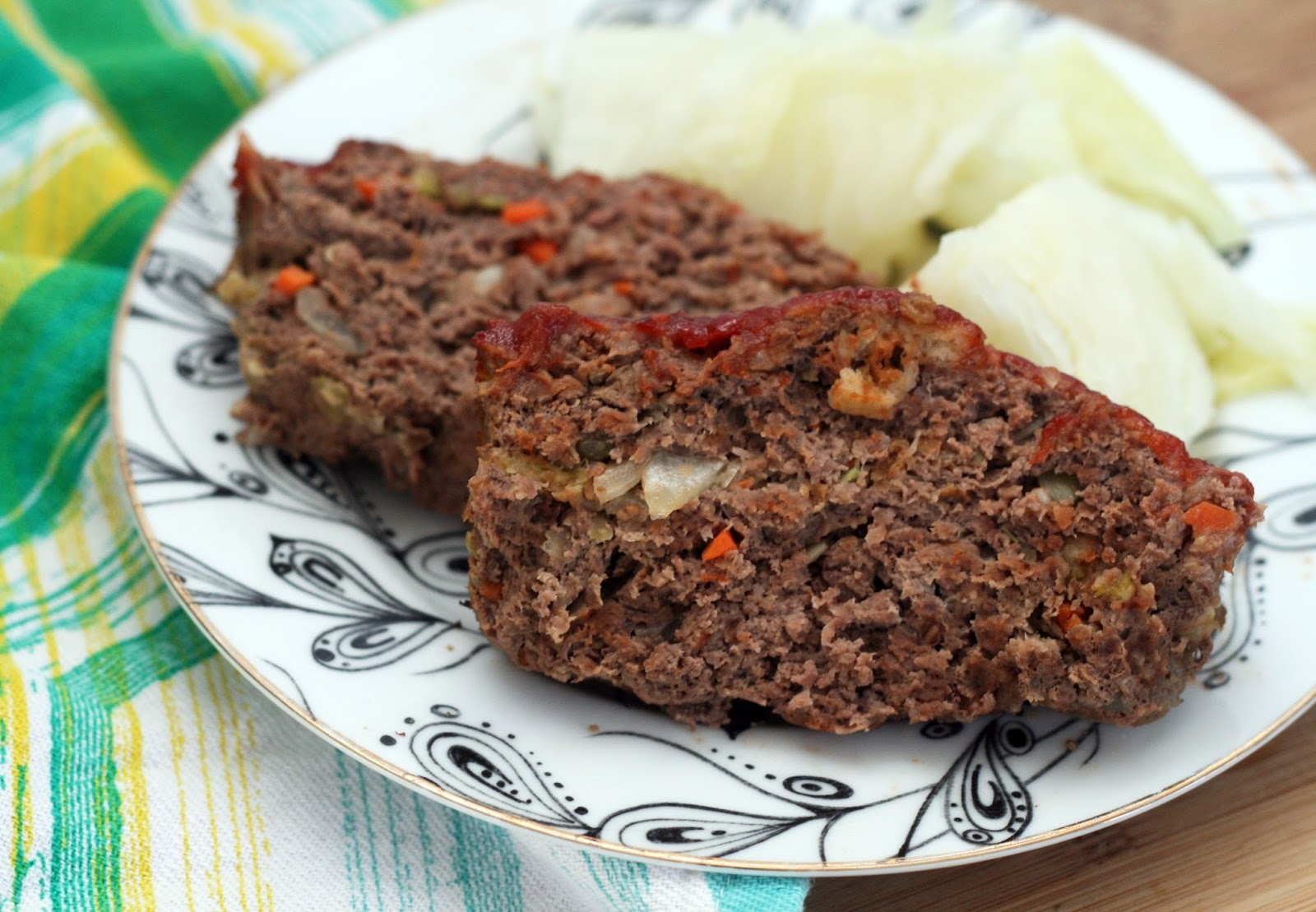 Recipes by Rachel Rappaport: Somewhat Classic Meatloaf