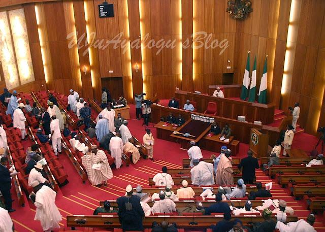 Drama In The Senate As PDP Senators Call APC 'All Progressives Crisis'