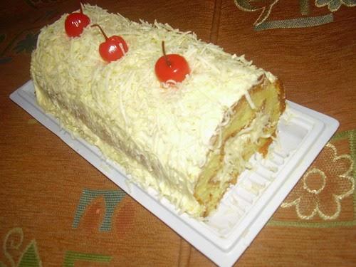 Resep Cake Keju Jepang: Cara Membuat Bolu Gulung Keju