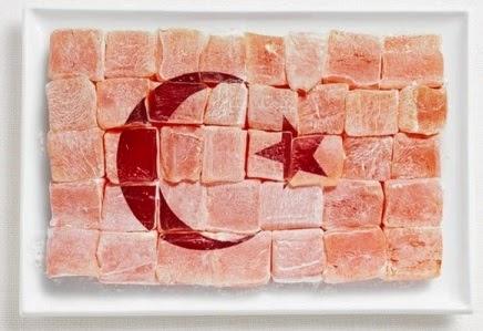 вкусный флаг Турции