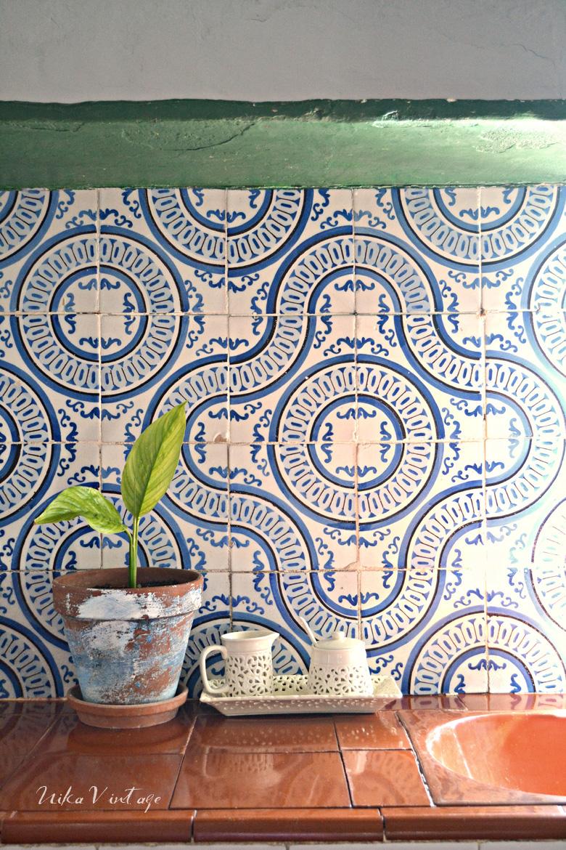 Detalles de mi cocina nika vintage for Azulejos antiguos para cocina