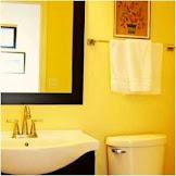 Half bathroom ideas yellow that draws