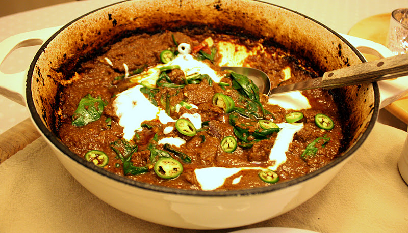 Vanilla Clouds and Lemon Drops: Fiery Lamb & Spinach Curry ...