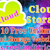 Top 10 Free Cloud Storage Earn Money Uploading Your Files Hindi