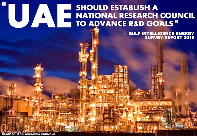 ENERGY | GI's Energy Industry Survey 2015 : UAE Should Establish a National Research Council to Advance R&D Goals