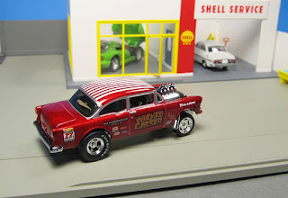 hot wheels wicked chevy bel air gasser