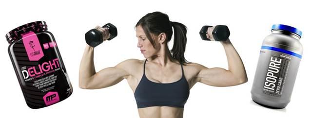 Suplementos fitness para mujeres que quieren tonificar y eliminar grasa corporal