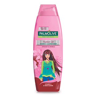 Palmolive Naturals Fashion Girl Shampoo 350 ML