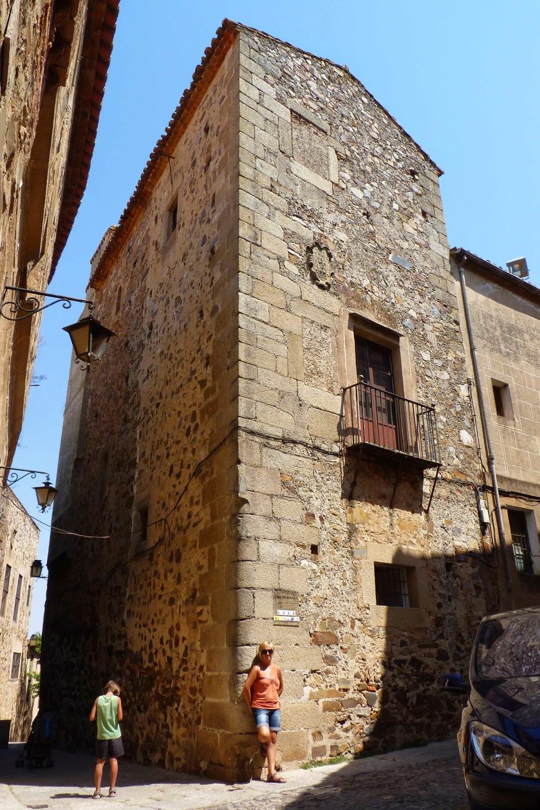 Cáceres, Casa de Aldana.