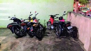 Operação conjunta apreende cinco motos suspeitas de adulterações em Damião