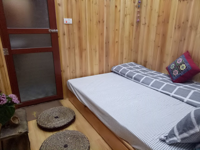 little sapa homestay-h'mong'sroom