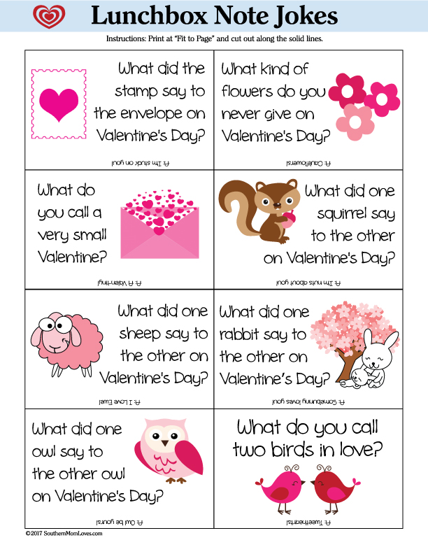 Valentines day notes