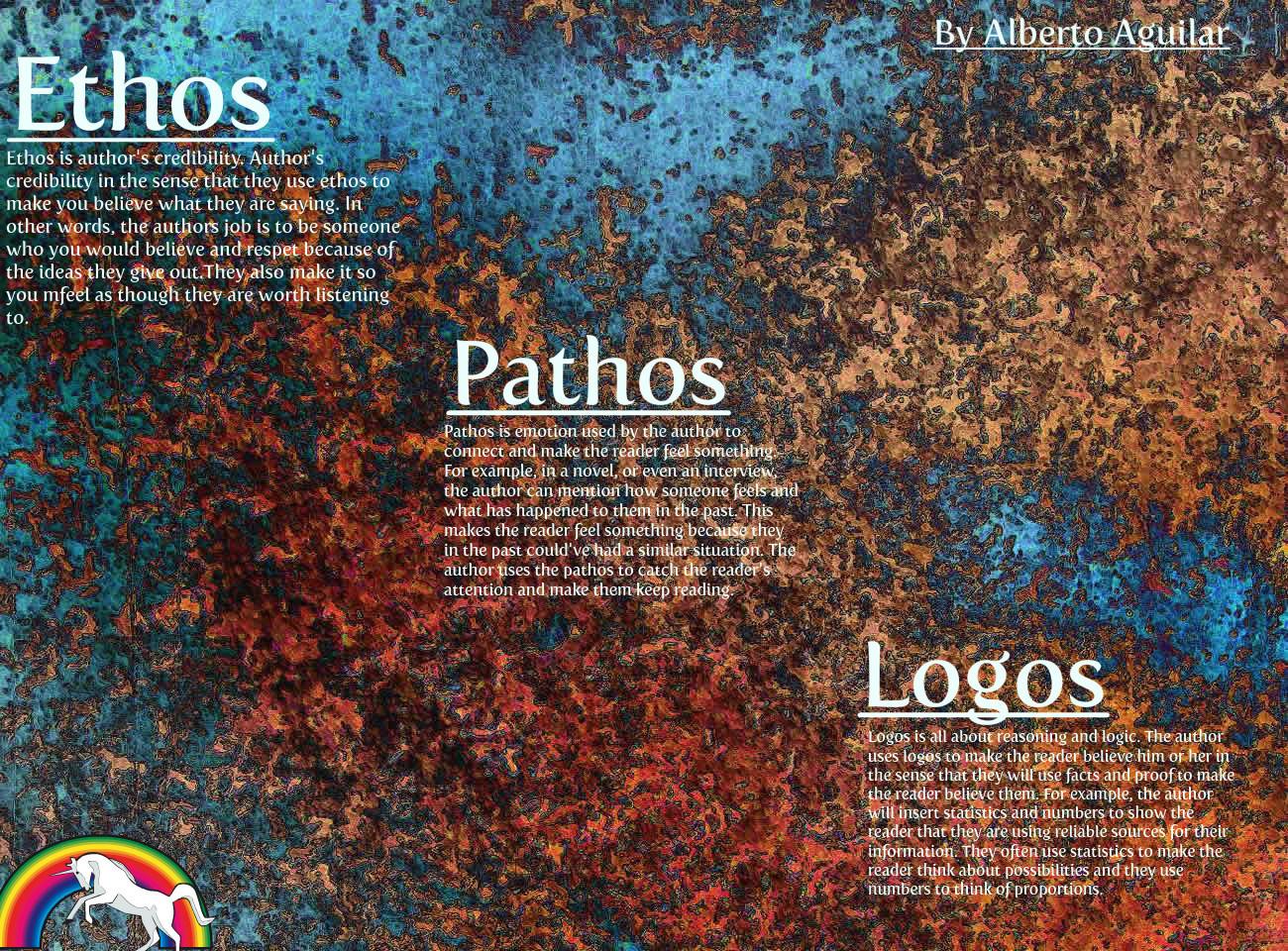 Entire Series Of Advertisements For Logos Pathos Ethos Persuasion