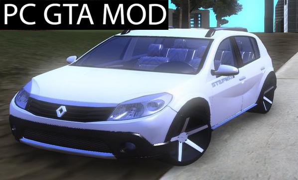 Free Download Renault Sandero StepWay  Mod for GTA San Andreas.