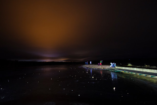 Aurora boreale vicino all'Apukka resort-Rovaniemi