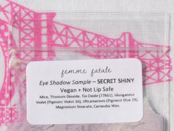Femme Fatale Friday: Secret Shiny Eyeshadow Swatches & Review