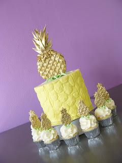 Golden Pineapple cake