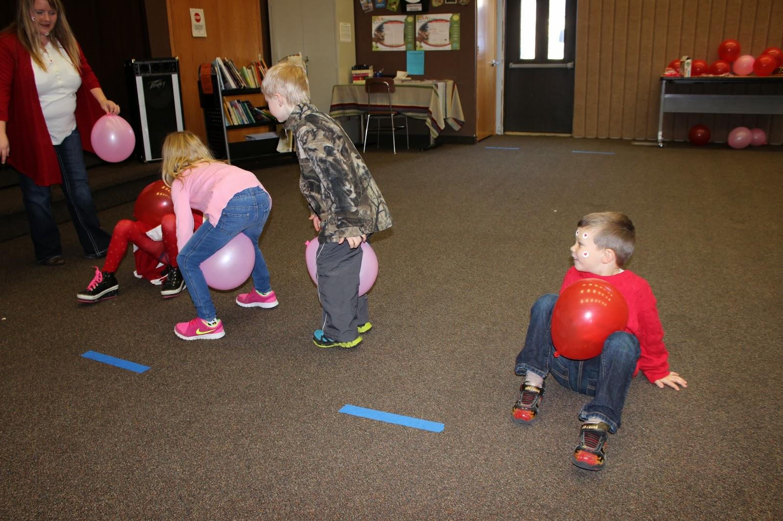 Miss Jessicas Kindergarten Valentine Party Games