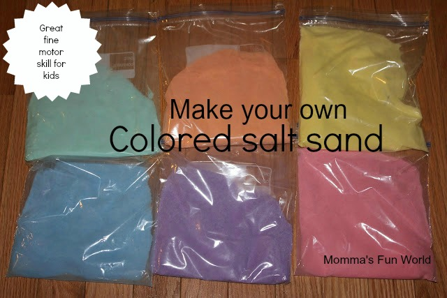 how to change the color of sand
