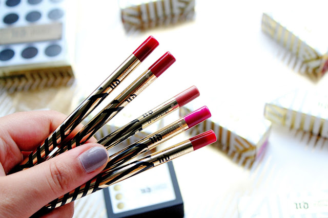 Urban Decay x Gwen Stefani Lip Liners Review