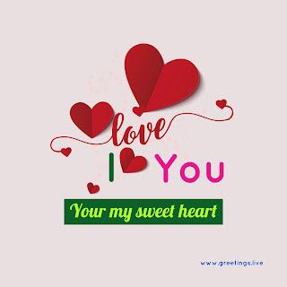 I love you special greetings image