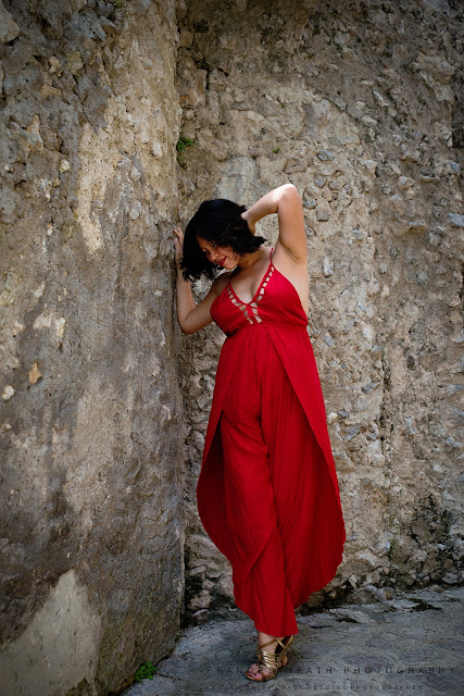 Pregnancy portrait Ravello