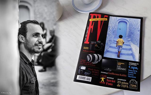 عادل أزماط مصور فوتغرافي محترف يهوى اللعب بالضوء والظلال