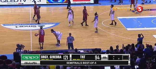 Ginebra def. TNT, 121-94 (REPLAY VIDEO) Semis Game 1 / October 2