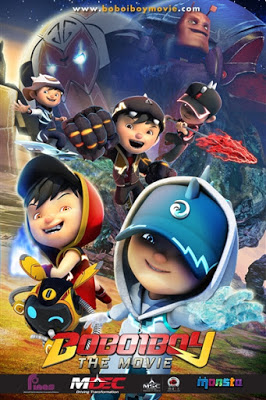 Download BoBoiBoy The Movie (2016) DVDRip Subtitle Indonesia