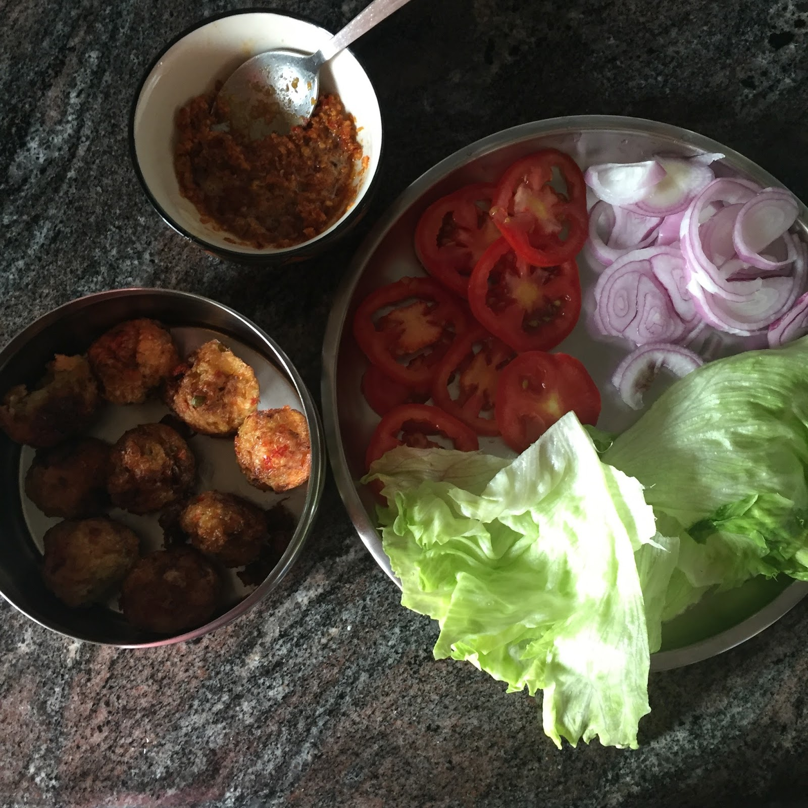 how to make veg burger at home