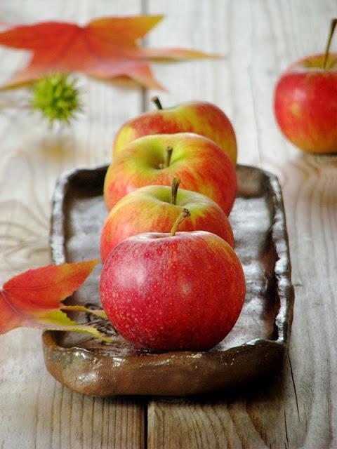 recette bio avec des pommes