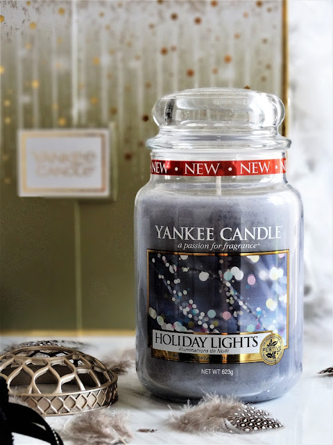 Holiday Lights Yankee Candle, avis Holiday Lights Yankee Candle, bougie holiday lights yankee candle, yankee candle holiday lights review, coffret cadeau yankee candle noel 2018, yankee candle noel 2018, yankee candle christmas collection 2018, yankee candle christmas collection review, yankee candle christmas gift set 2018