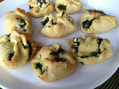 Spanakopita Crescents Recipe