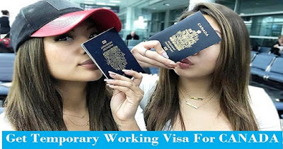 Temporary Working Visa for Canada