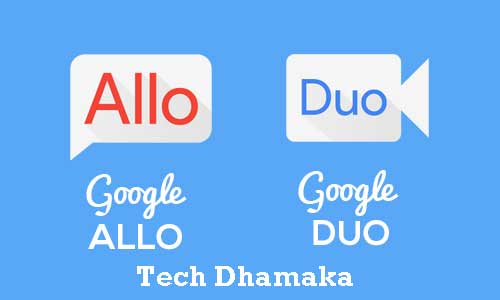Google duo and allo app
