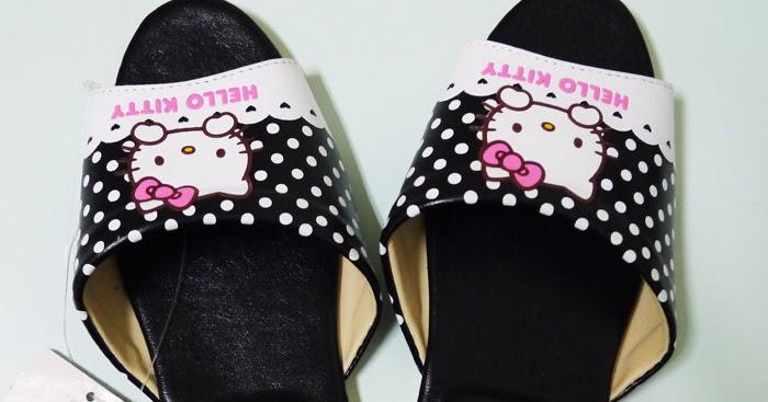 小魚老師: 獎品-Hello Kitty拖鞋