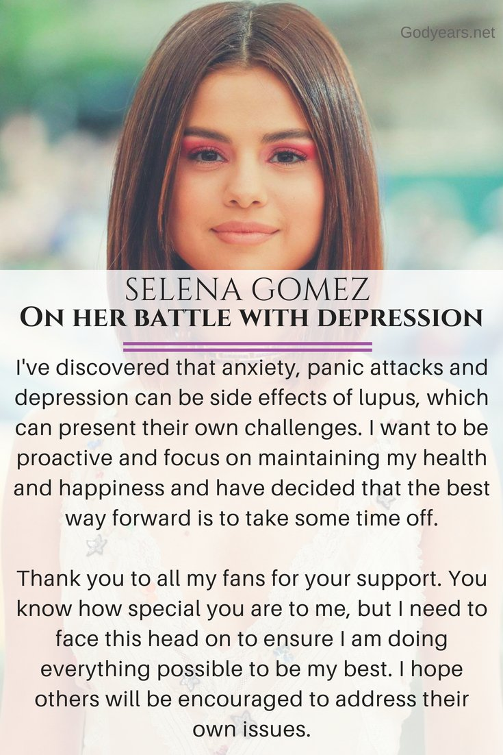 Suicide Prevention: Selena Gomez talks on her battle with depression