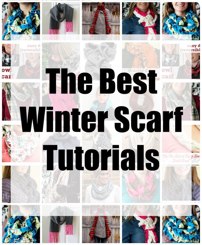 The Best DIY Winter Scarves